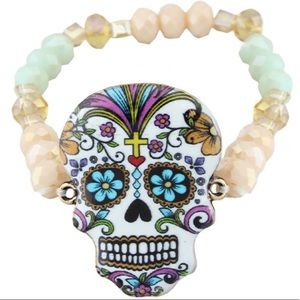 Jewelry - 🌵Sugar Skull Bracelet🌵